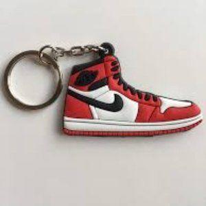 Jordan 1 Chicago Keychain
